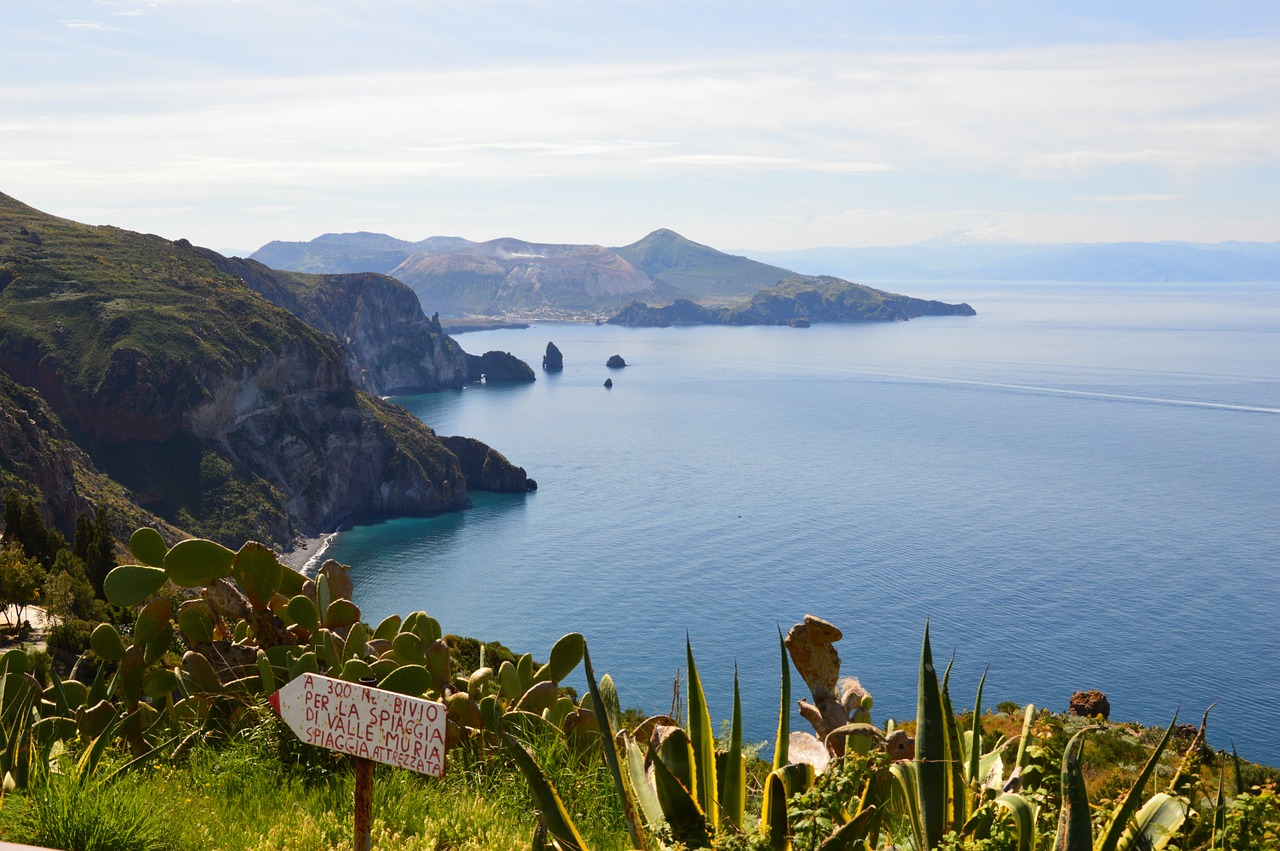 Lipari, an island near Sicily