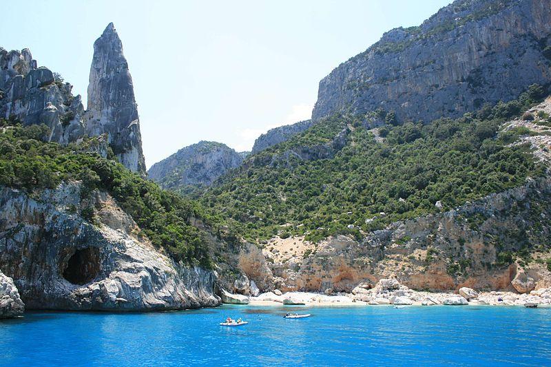 stunning beaches near our Sardinia villas with pools