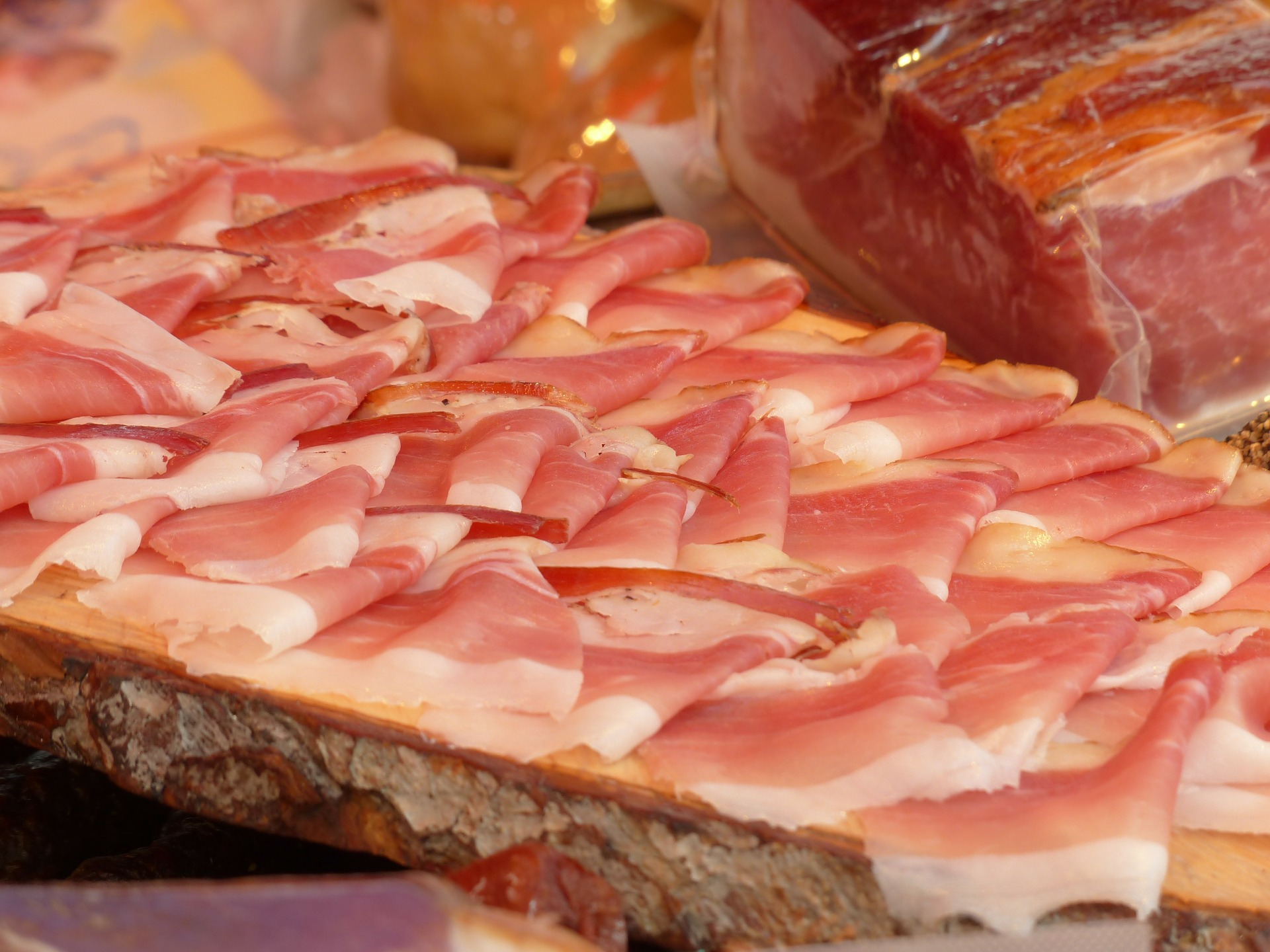 Cured hams made near our luxury hotels, Umbria