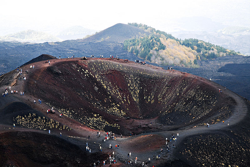 Mount Etna walking trail