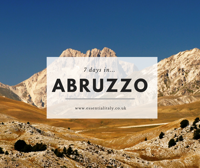 mountains, 7 days in Abruzzo