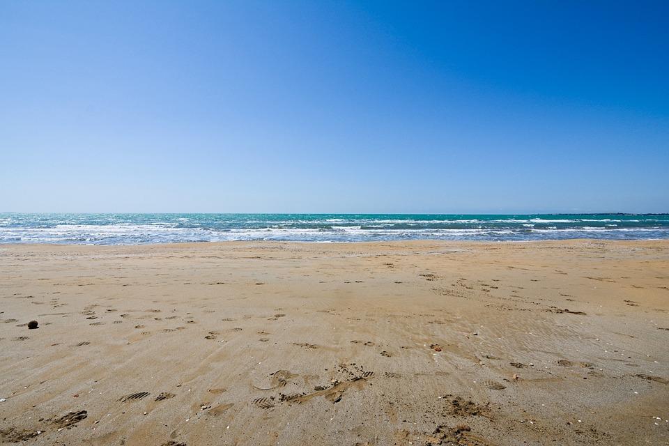 A beach in Sicily, Italy