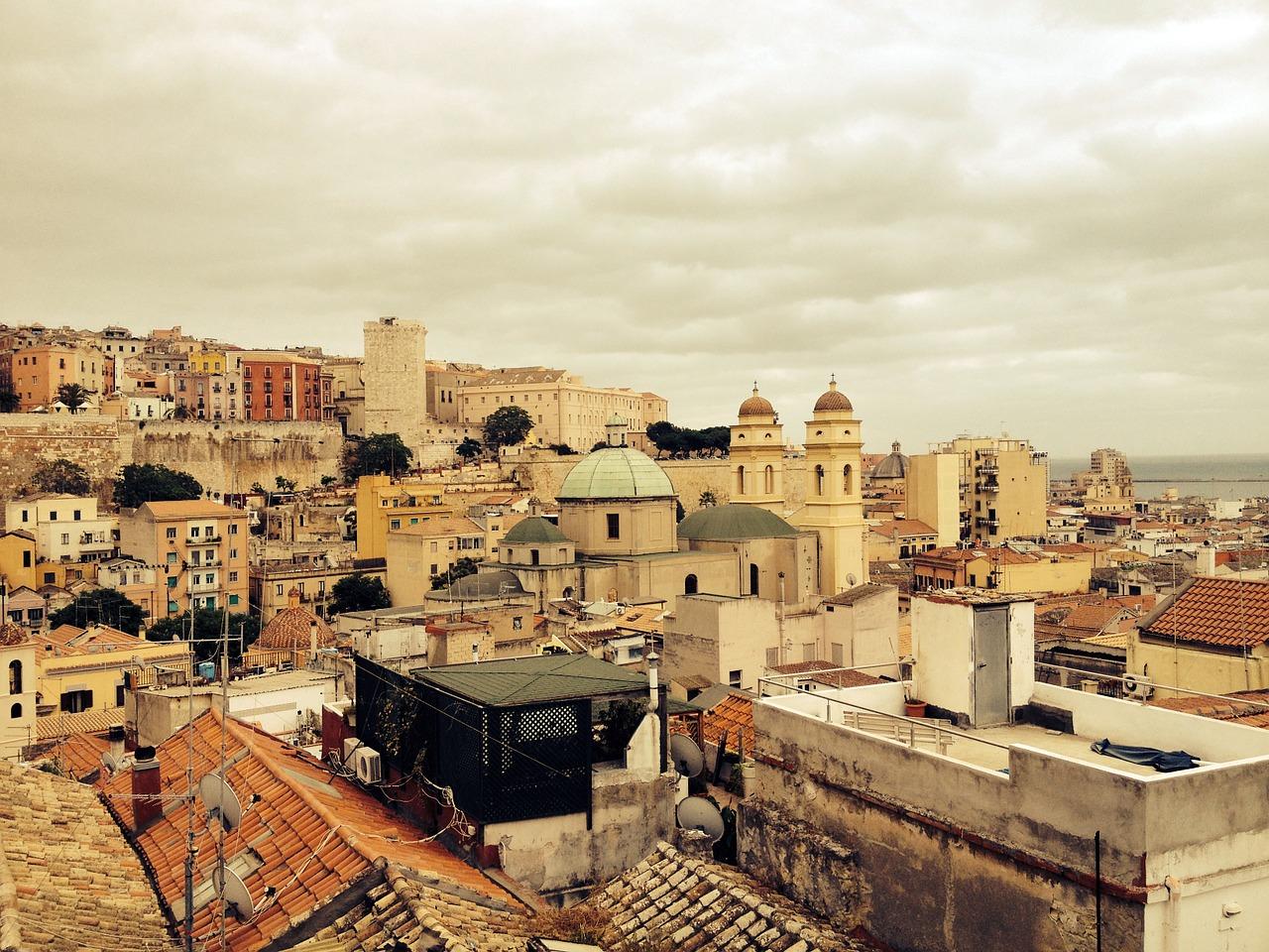 The capital city of Sardinia, Cagliari