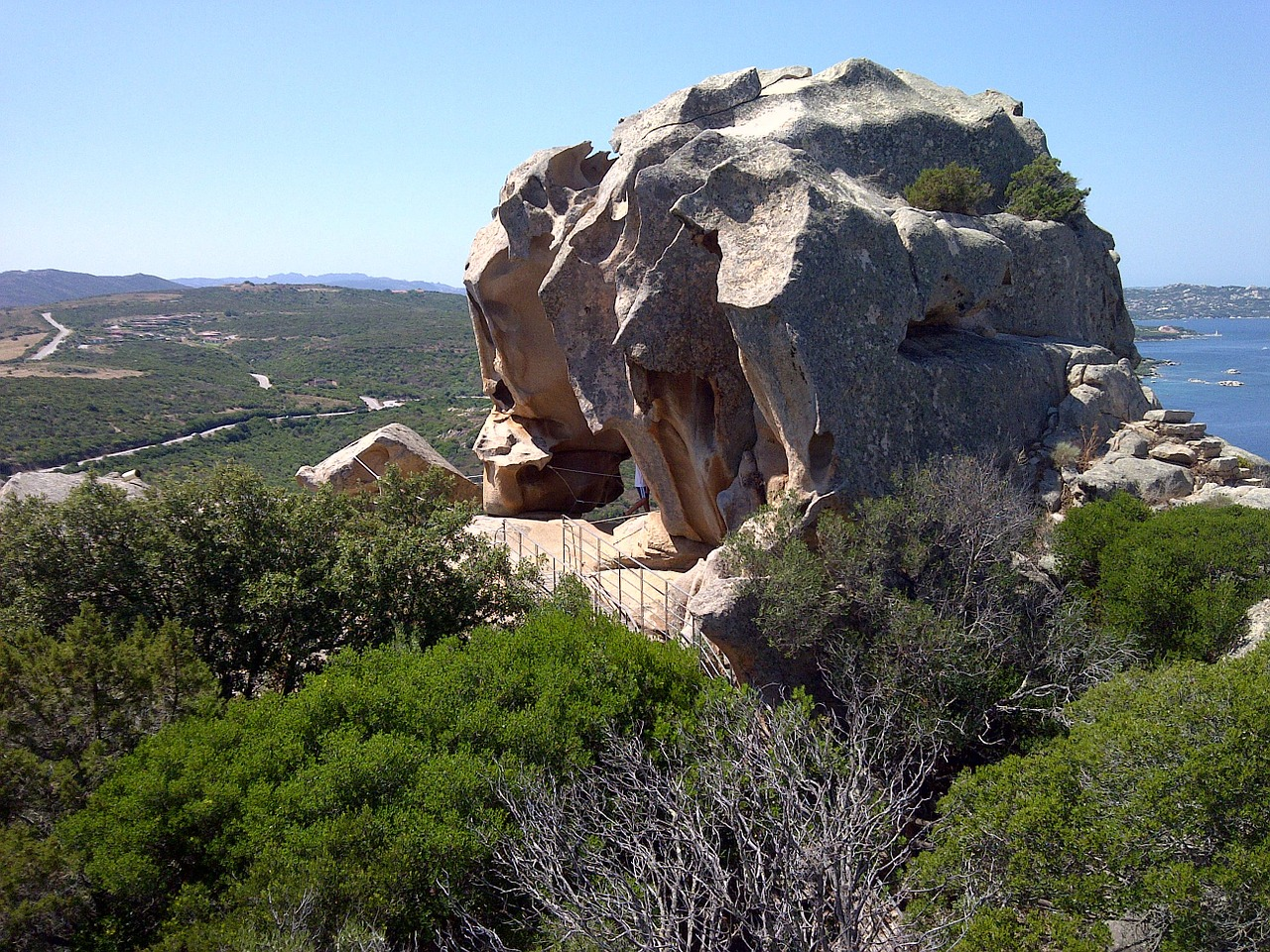 Capo dorso in the sardinian countryside