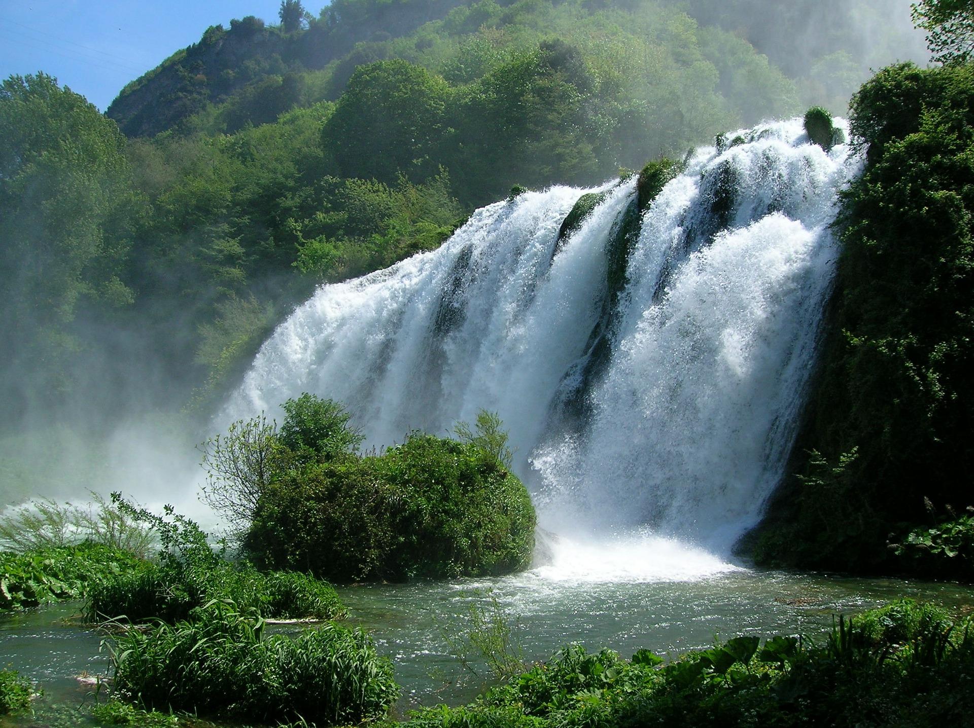 Maremore waterfalls, Umbria