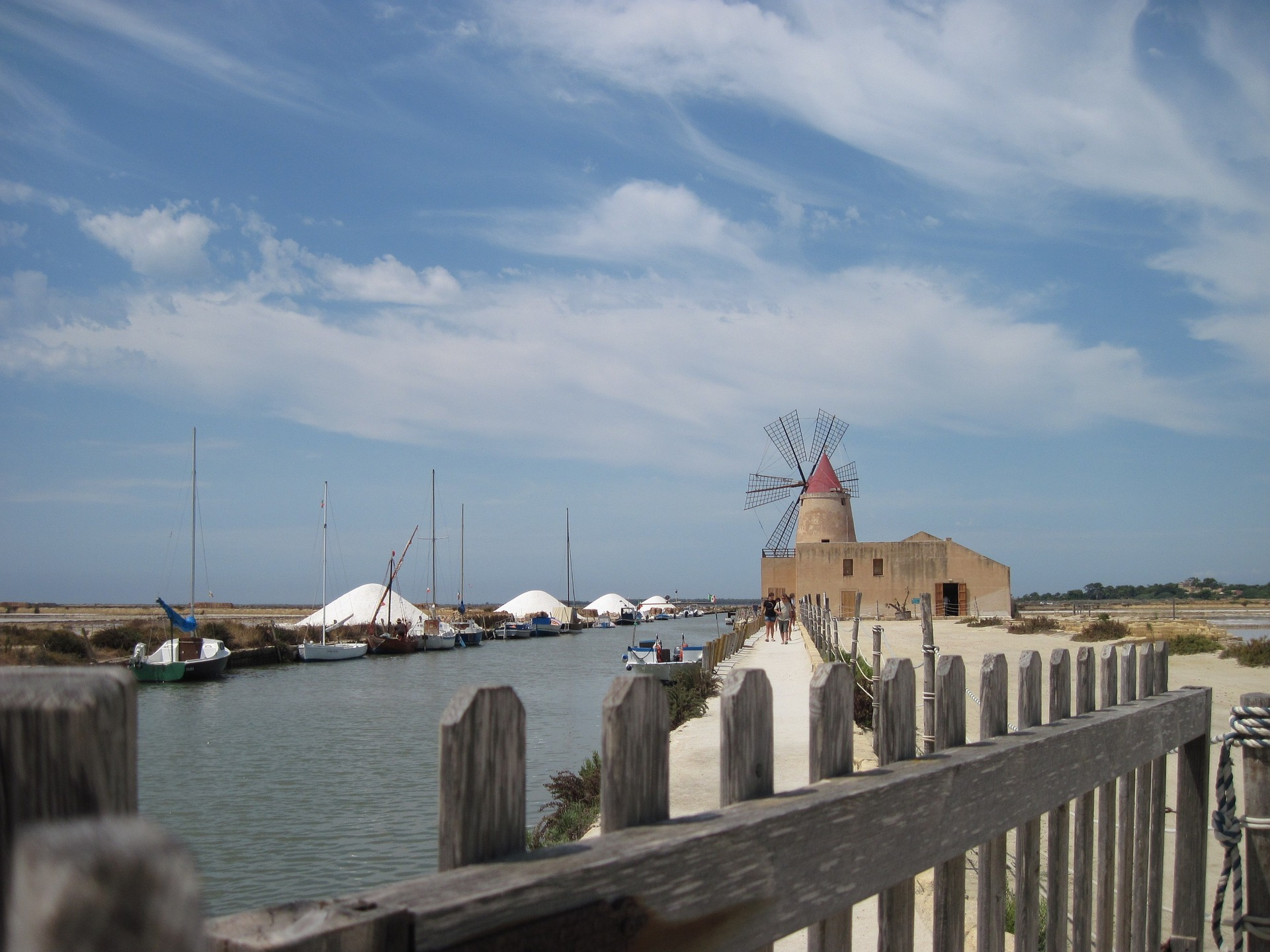 Salt Pans, Sicily