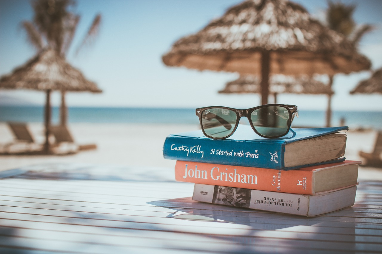 Books to read at the Italian beach.