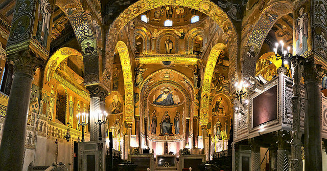 Palatine Chapel, Palermo.