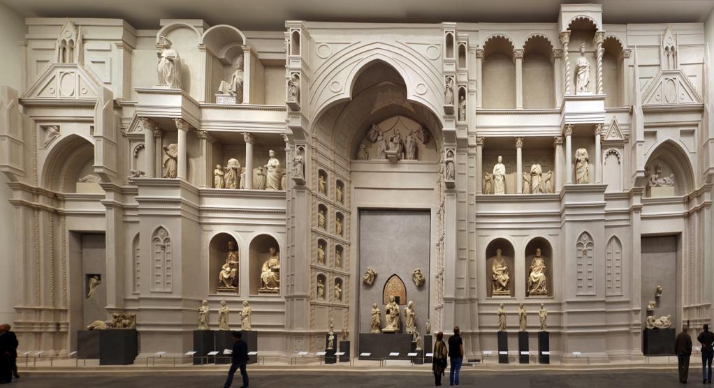 Santa Maria del Fiore (Florence) - First facade