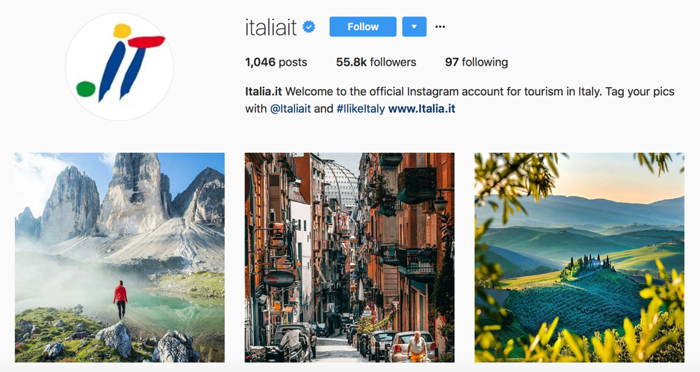 Tourism in Italy - @italiait