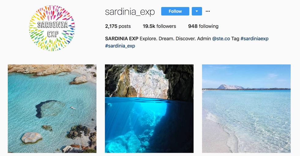 Sardinia instagram
