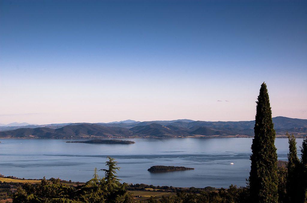 Lake Trasimeno.