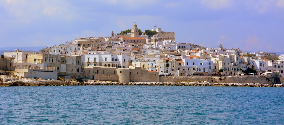 A city on the coast of Puglia