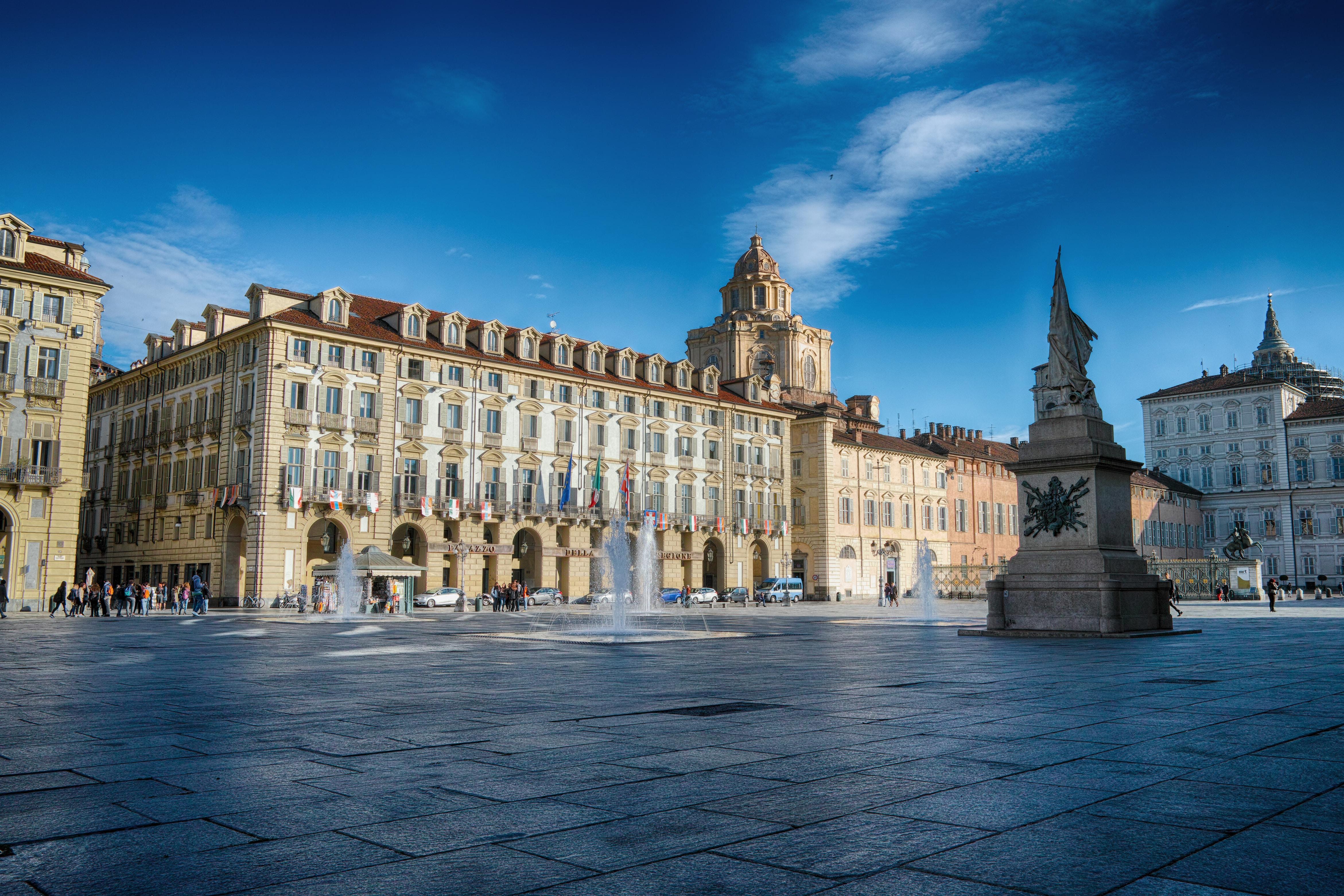 The Neobaroque Palazzo Marini in Rome