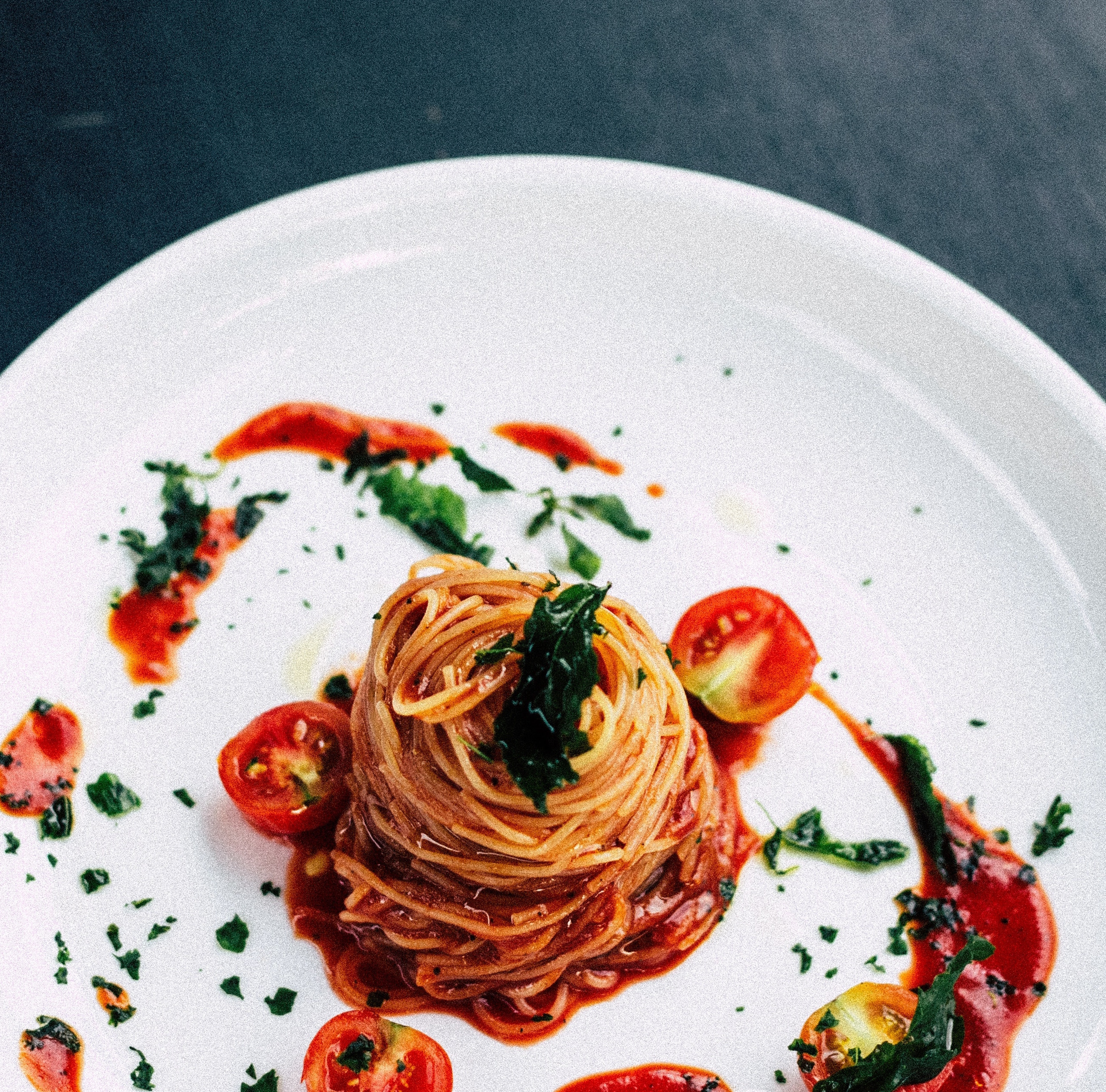 A spaghetti dish made in Italy