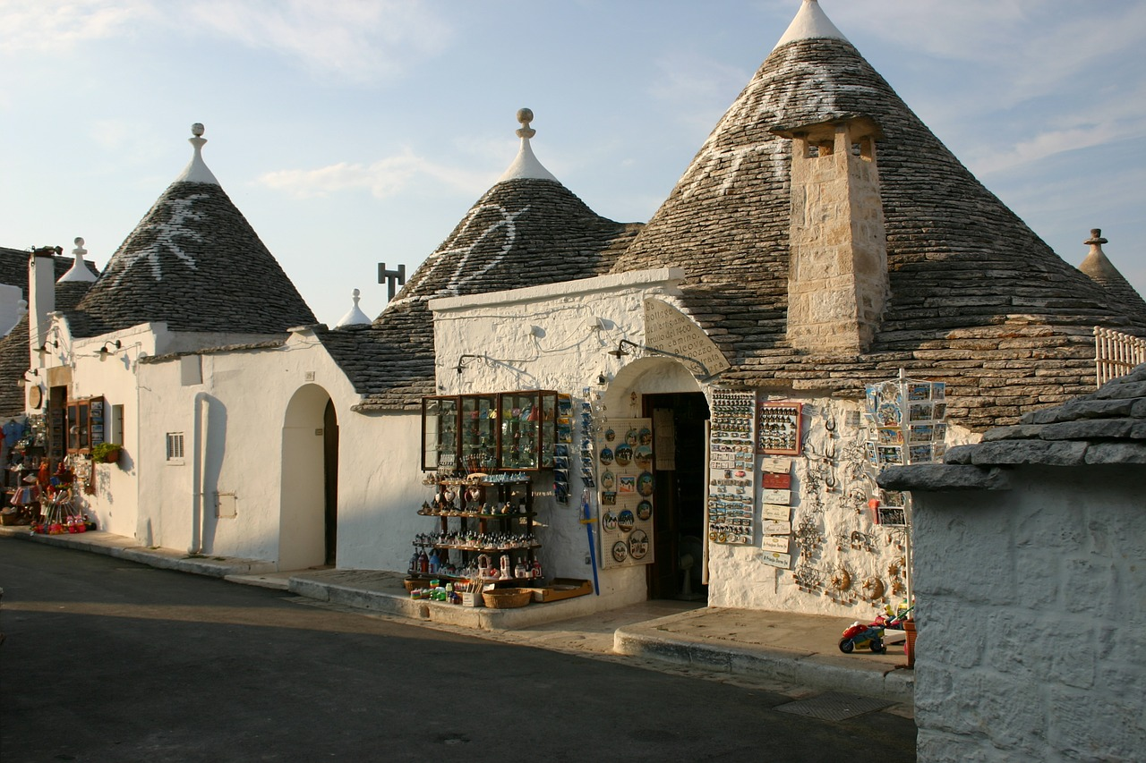 A gift shop Trulli in Alberobello