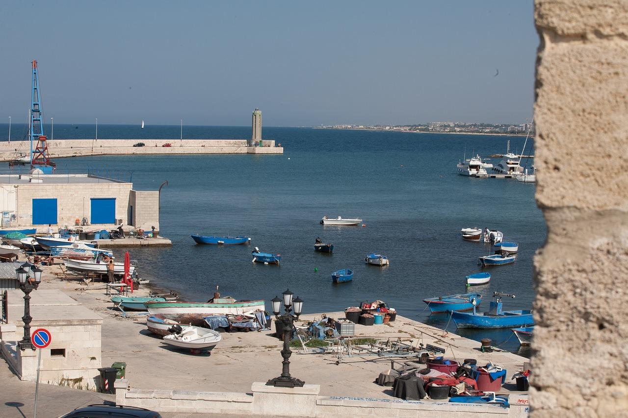 Beach in Bari