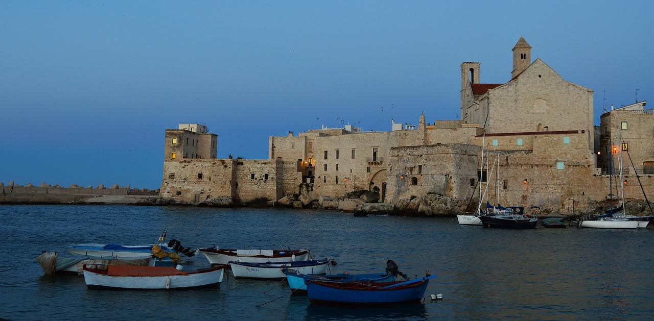 Sunset in Bari
