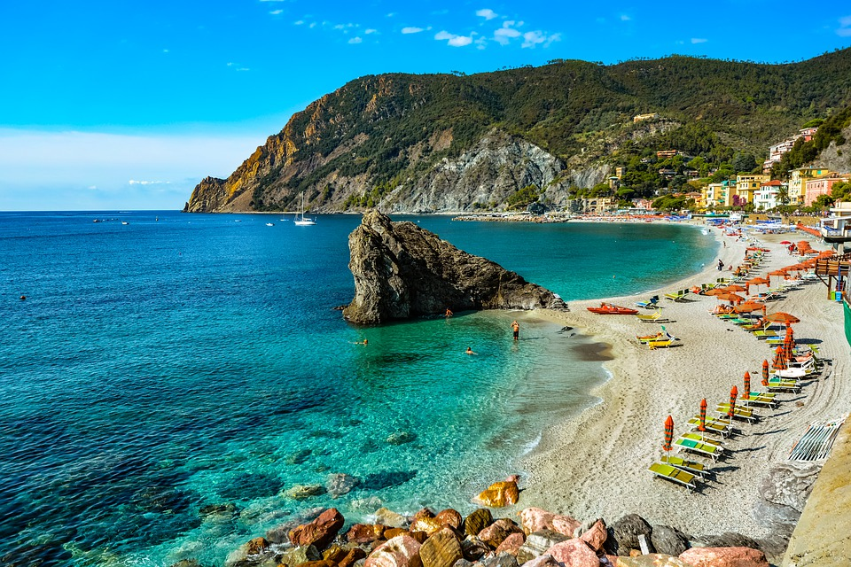 A beautiful Italian Beach