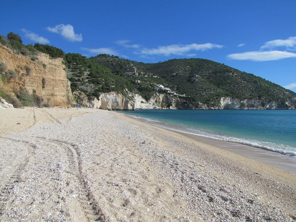 A beach in Puglia