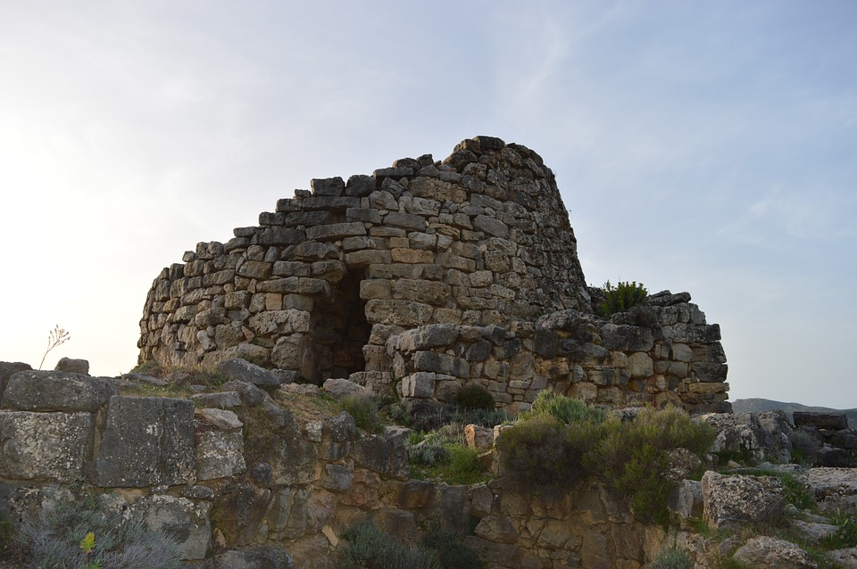 A Nuraghe Tower in Sardinia