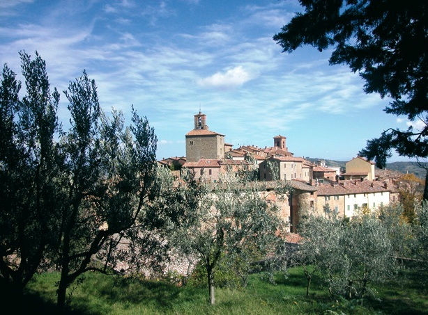 Panicale, a village in Umbria