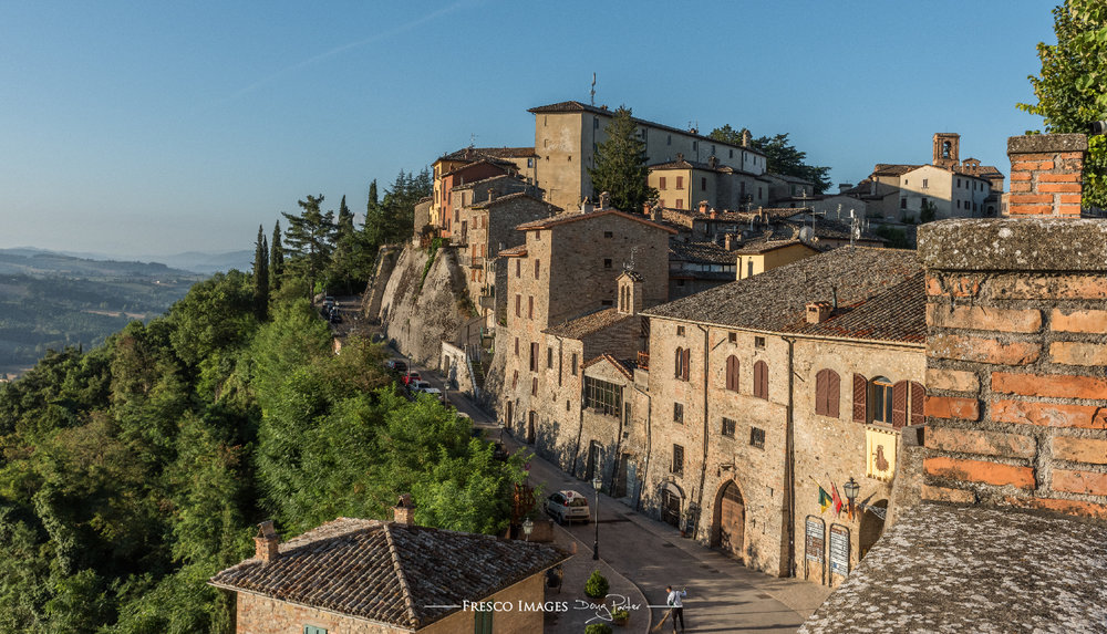 Beautiful village of Montone
