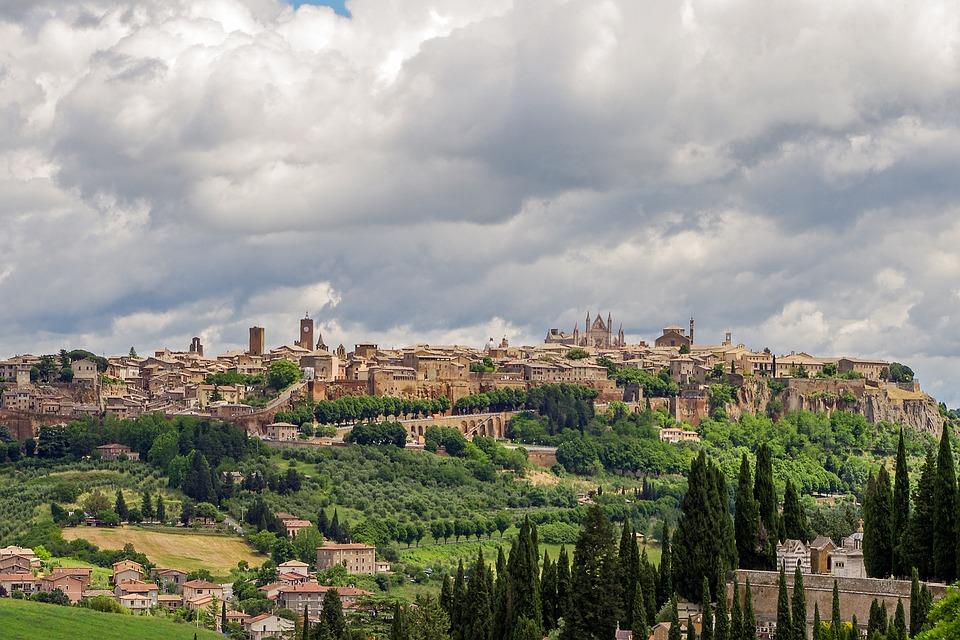 Orvieto, medieval town in Umbria
