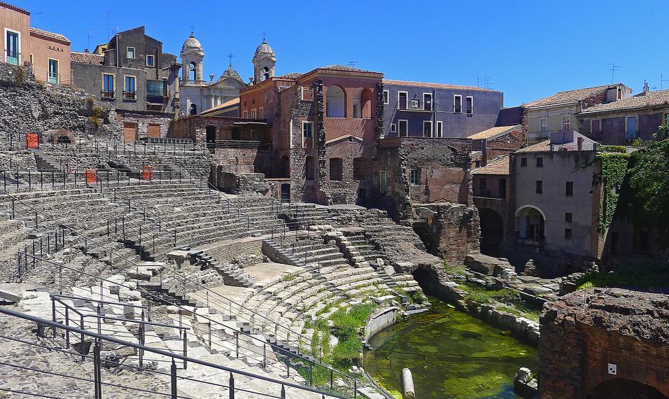 Roman Theatre in Catania