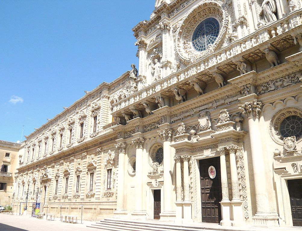 The Basilica di Santa Croce in Lecce