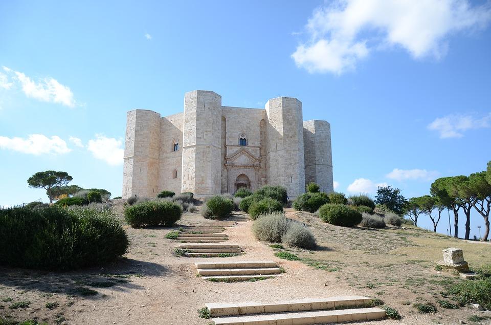 Castel Del Monte in Apulia, Italy