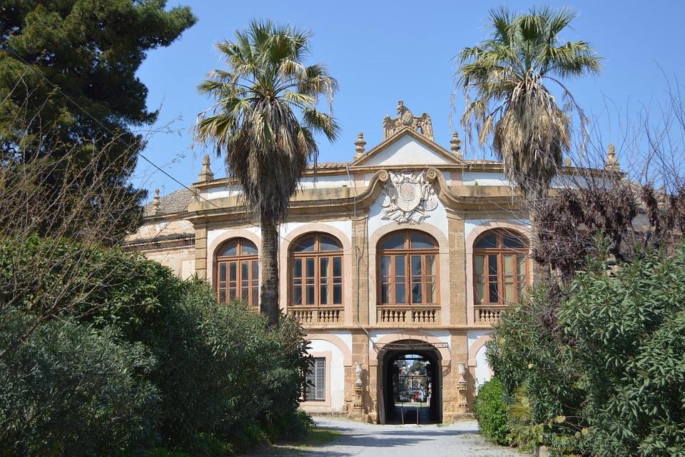 A villa in Palermo, Sicily