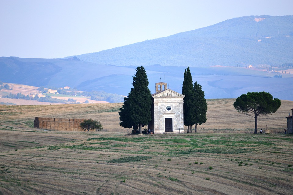 Famous chapel in Tuscany