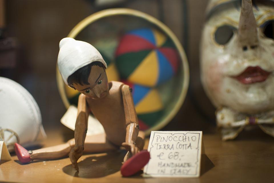 Pinocchio figure