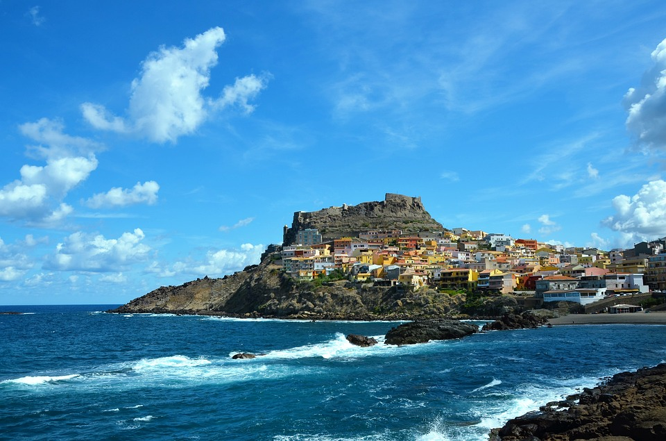 Castelsardo, seaside town in Sardinia