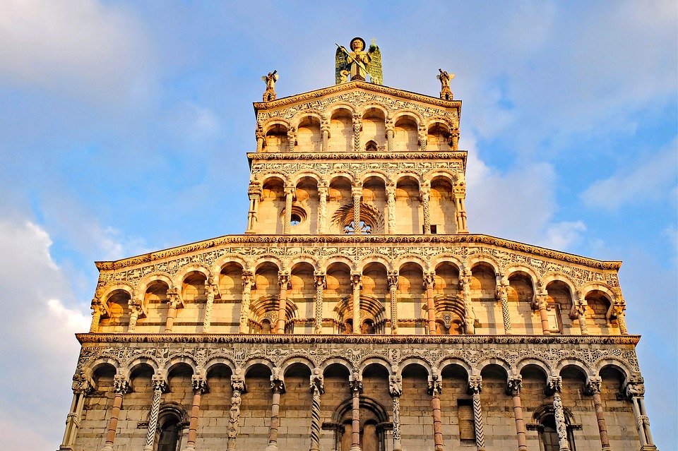 The Duomo in Lucca, Tuscany