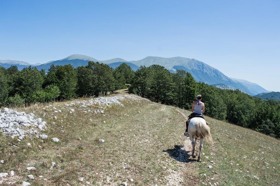 Horseriding in L'Aquila