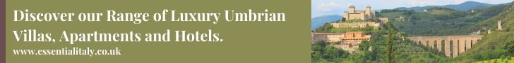 Discover our range of Umbrian villas banner
