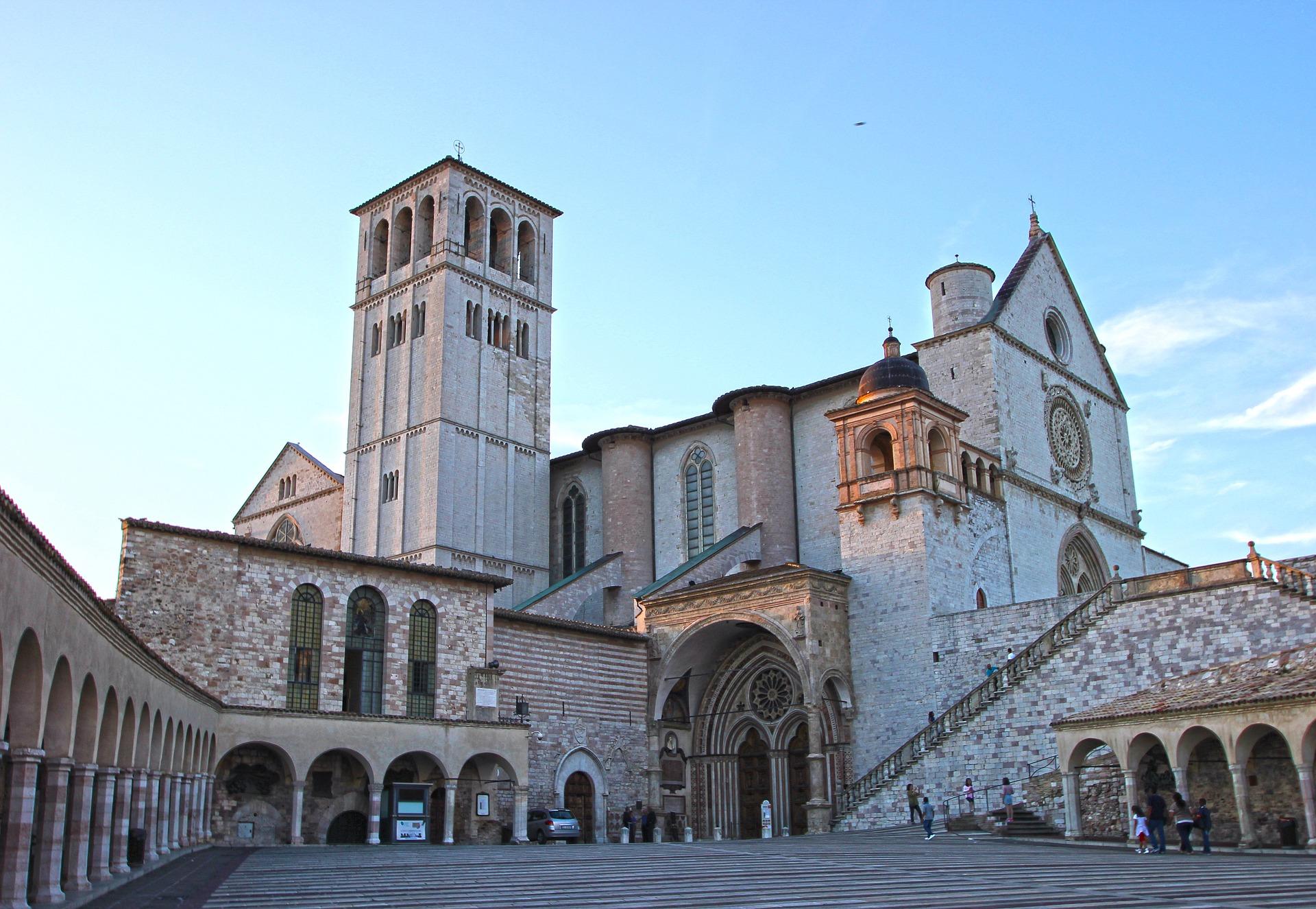 Basilica of St Francesco, Assisi, Umbria