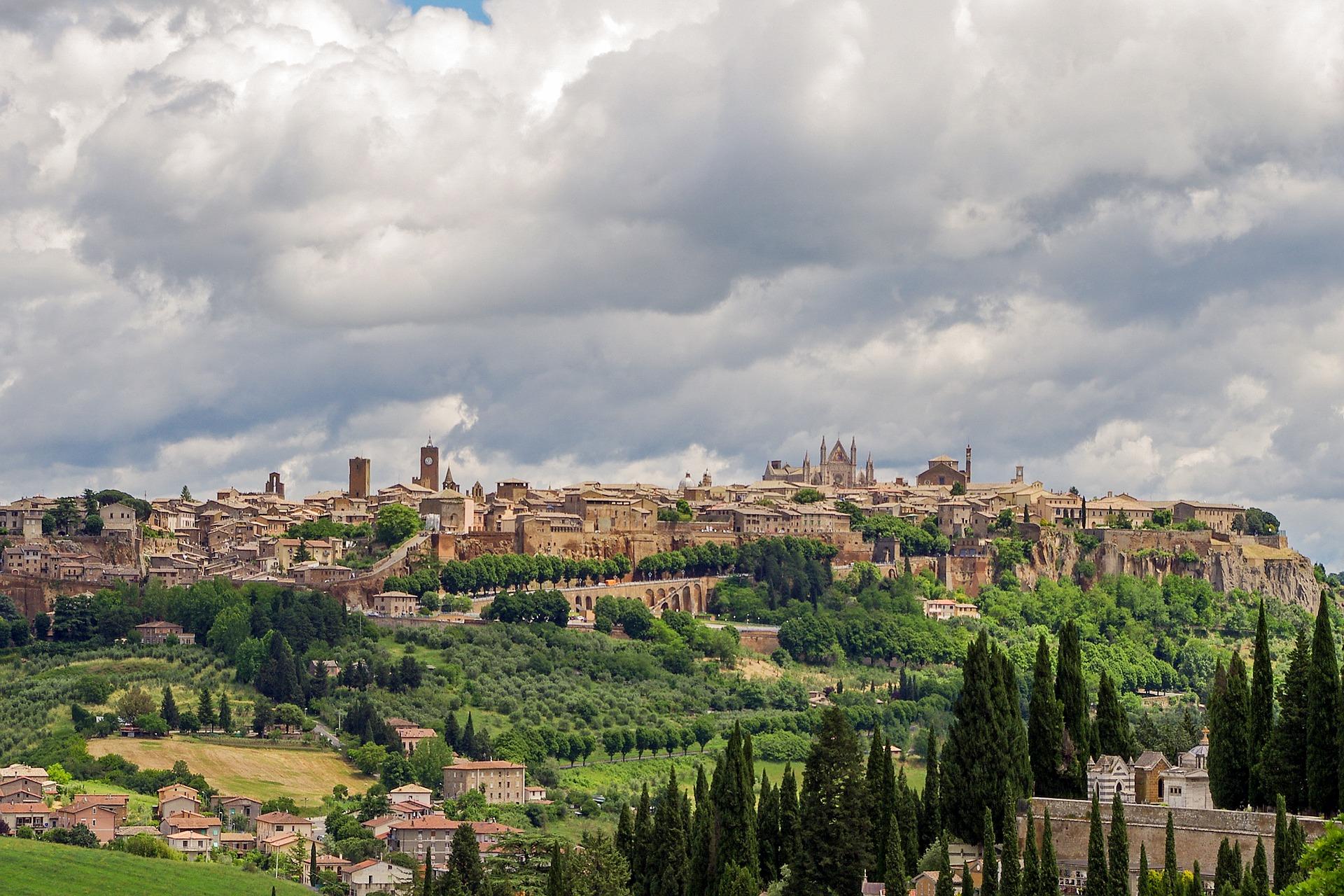 Orvieto landscape in Umbria