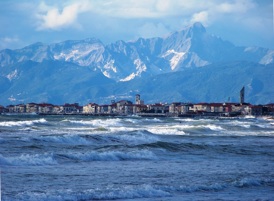 The Coast of Tirrenia in Pisa