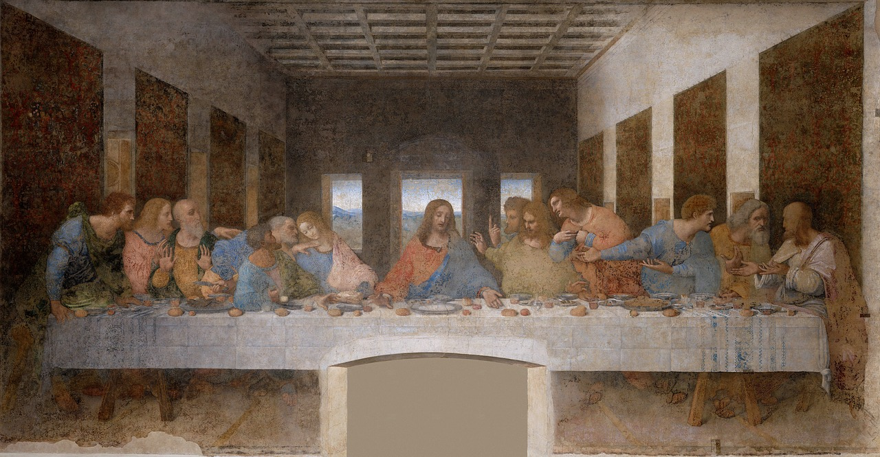 The Last Supper painting.