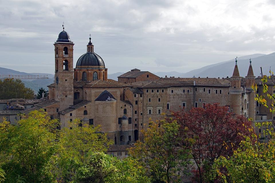 The Palazzo Ducale in Urbino, Le Marche