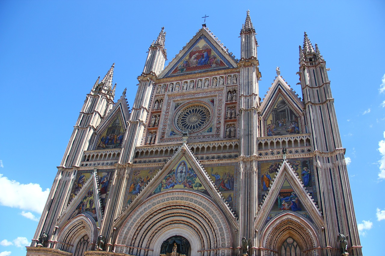 Cathedral of Orvieto.