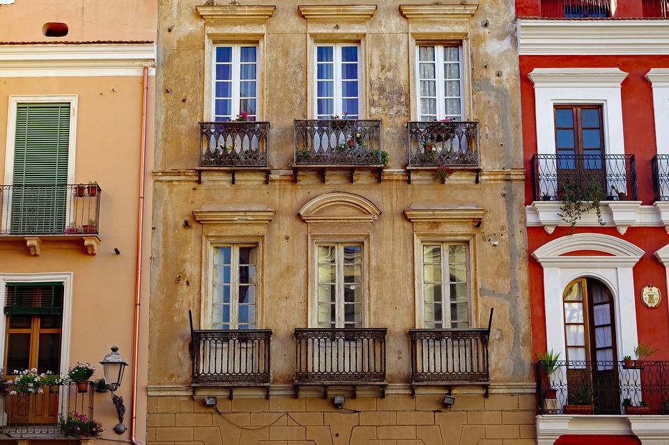 A classic Italian apartment in Sardinia